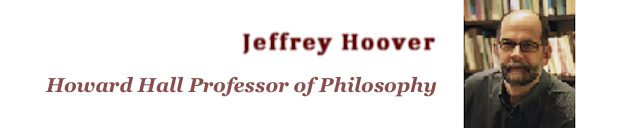 Jeffrey Hoover/Howard Hall Prof. of Philosophy