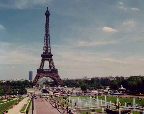 the eiffel tower was built for the international exhibition of paris of 1889 commemorating the. Black Bedroom Furniture Sets. Home Design Ideas